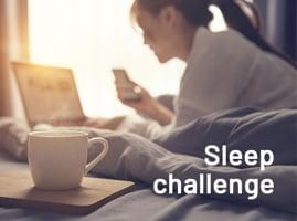 14 night sleep challenge